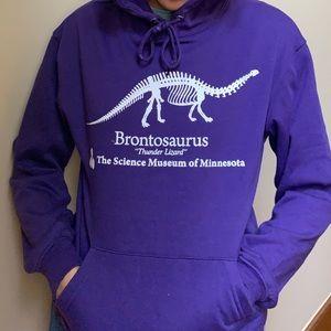 as seen in stranger things- dinosaur hoodie